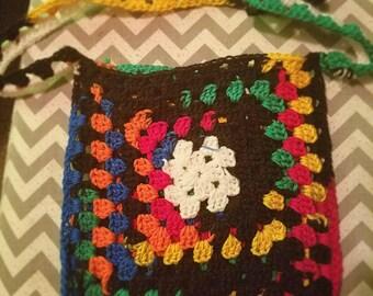 Hand made mini tote bag