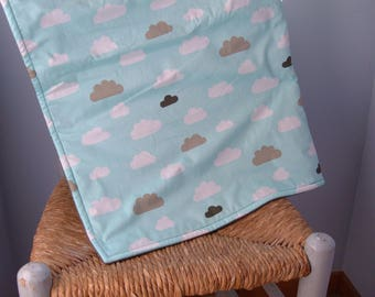 Baby blanket fabric cloud