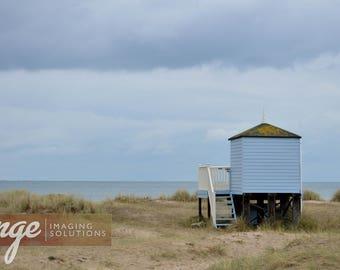 Beach hut at Hengistbury Head
