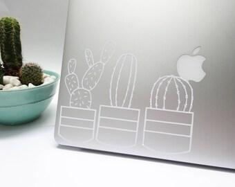 Cactus Garden Vinyl Stickers