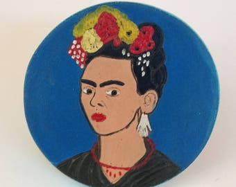 Oh, Frida!  Miniature Table for Dollhouse or Day of the Dead Display