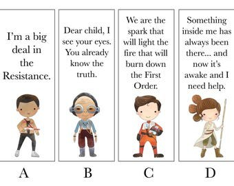 New Space Wars Bookmarks