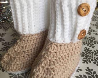 Baby Crocheted Booties