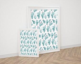 Wall Art Prints - Cactus
