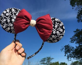 Pirates of the Caribbean Minnie Ears