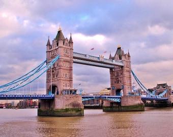 Travel Photography: London Bridge in London, England PRINT