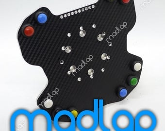 Logitech G29 button plate with shifter lights and integrated adapter 70mm / 74mm Plug & Play