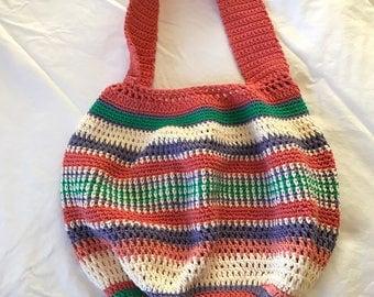 Shoulder Bag, Handmade Crochet