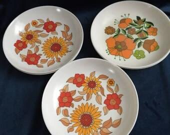 Vintage X 6 plates