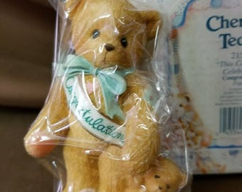 NIB Cherished Teddies This Calls For A Celebration Congratulations 1997 215910