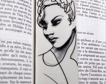 Handmade Bookmark - Illustration