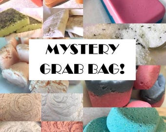 Mystery Grab Bag! 4 Sample Sizes - Body Butter, Soap, Scrubs, Soaks, And More! Handmade by SterlingSoapCo