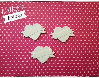 Chalks scented heart with headband