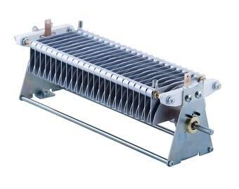 Air variable capacitor 32 - 272 pF, 3.5 kV