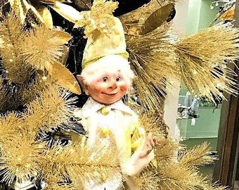 "Floridus 30"" ""KOZAC"" Elf (Gold, Cream & Black) FLO-XN701500"
