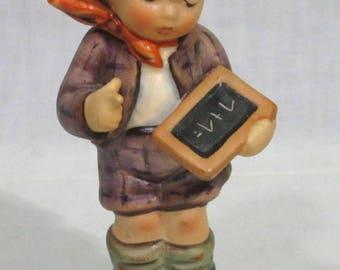 Hummel Figurine Boy One plus One