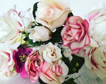 Flower crown, twinning flower crown, matching flower crowns, mummy and daughter flower crowns, flower wreath headpiece, flower headband