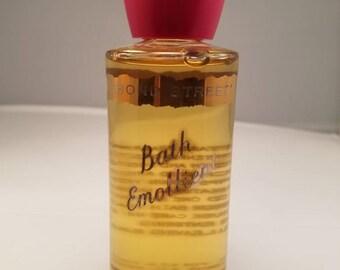 Vintage Yardley Bond Street Bath Emollient 4oz