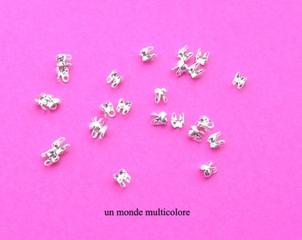 50 Ong silver size 4 x 3.5 mm
