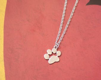 Tiny Paw Necklace