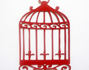 cage and bird 408 surprise for your scapbooking perspex