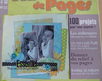 scrapbooking pages number 23 stories book August/September 2008