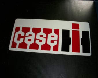 Case IH metal sign 24x8 inch