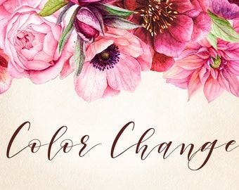 Color Change to Any Digital Download In My Shop
