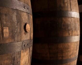 Wine Barrels photo, Oak cask, Whiskey barrels , Rum barrels, Bar Decor, Rustic, Wall art, photography, Dominican Republic, Instant download