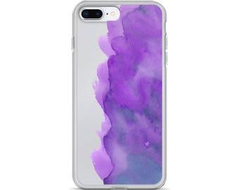 iPhone Case watercolor purple,iphone case watercolor,case iphone purple,cover purple iphone