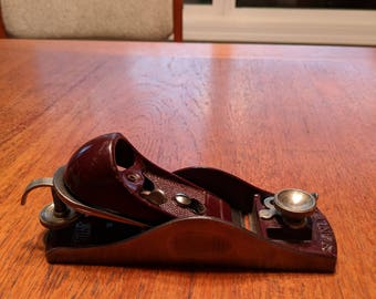 Block plane, #9.5 Stanley, adjustable.