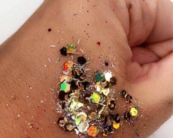 "Festival Body Glitter Gel ""Racket"""