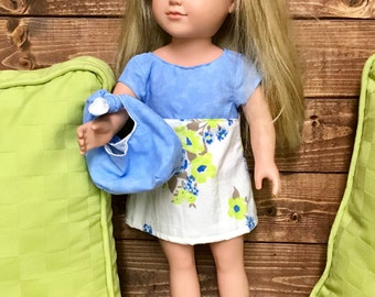 "2pc 18"" Doll Dress Outfit"