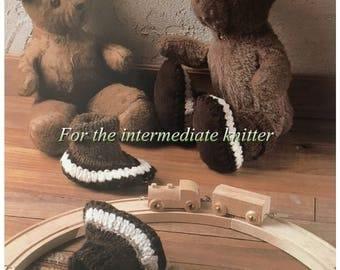 PDF Knit Slipper Socks For Child's