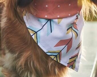 Dog Bandana   Double-sided   Path   Free Shipping to Canada