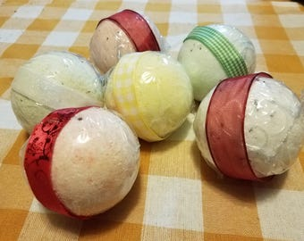 All natural bath bombs (set of 6)