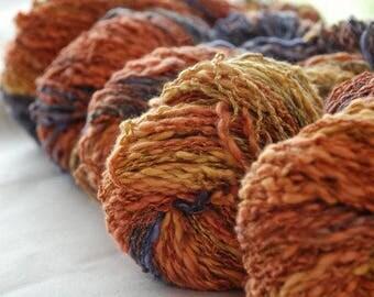 SUNRISE ~  COTTON/Linen yarn ~ worsted/Aran weight