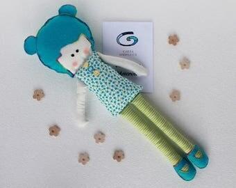 Anise, fabric Cupid doll