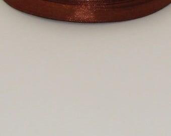 25 m width 6mm Brown satin ribbon