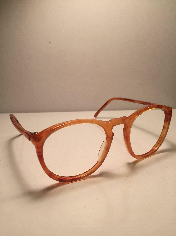 7f63487c19 Elio Fiorucci Vintage Frame Occhiali NOS Rare Brillen Lunette Round 80s 90s  Glasses