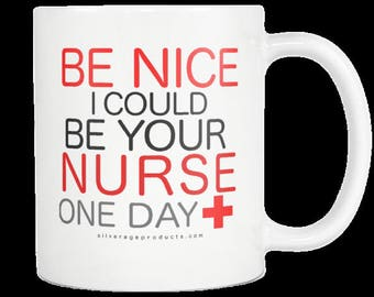 Registered Nurse Funny Coffee Mug Nurse Appreciation And Graduation Gift Idea Future Nurse Nurse School Birthday Gift Custom Mug