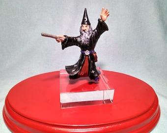 Figure of a magician, sorcerer or sorcerer Mark Bullyland in PVC rubber.