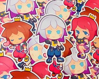 Kingdom Hearts Destiny Trio Stickers