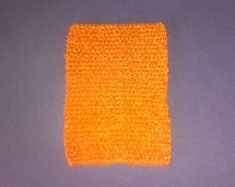 Strapless stretch crochet