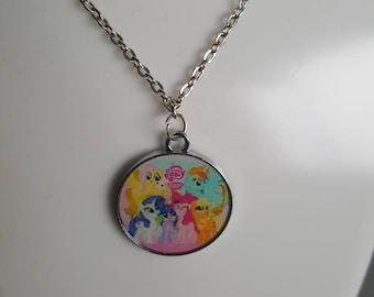 My little pony Necklace/keyring