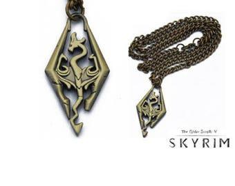 The Elder Scrolls V: Skyrim 2.5 cm metal necklace