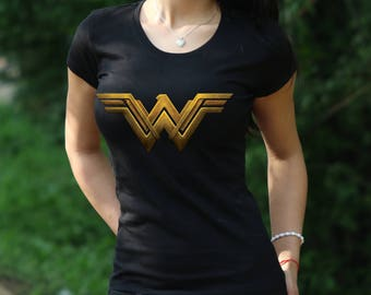Wonder woman logo etsy pronofoot35fo Gallery