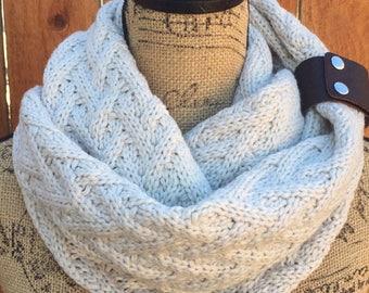 Knit Scarf, Women Knit Infinity Scarf, Infinity Knit scarf, Infinity Knit Scarf Women, Knit infinity Scarf, Infinity Scarf Women