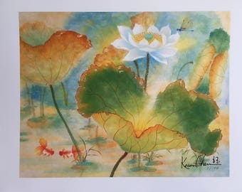 By the Pond | Art Wall Hanging