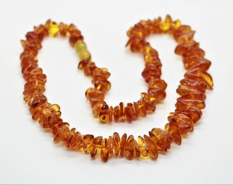 Baltic Amber Necklace Honey Colour